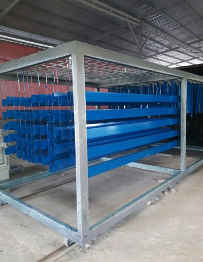 Aluminium - Blue - NMJ Powdercoating