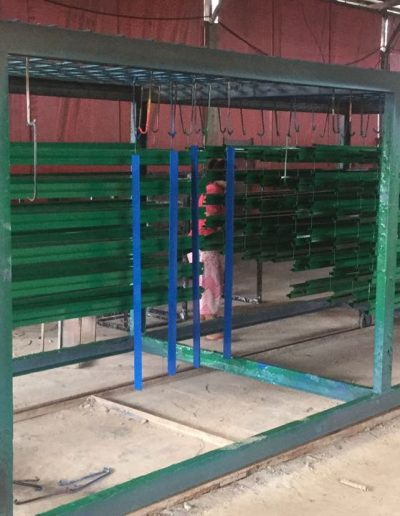 Aluminium - Green - NMJ Powdercoating