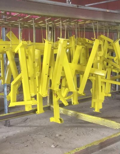 Gym Equiptment - Yellow - NMJ Powdercoating