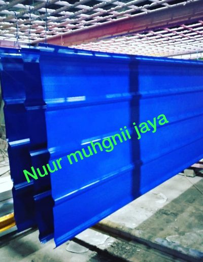 Atap Zinc Biru Tua - NMJ Powdercoating