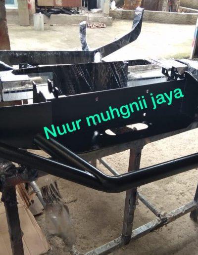 Bumber Mobil - Hitam Texture - NMJ Powdercoating