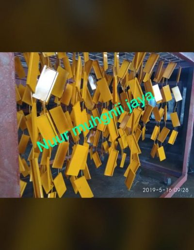 Plat - Kuning - NMJ Powdercoating