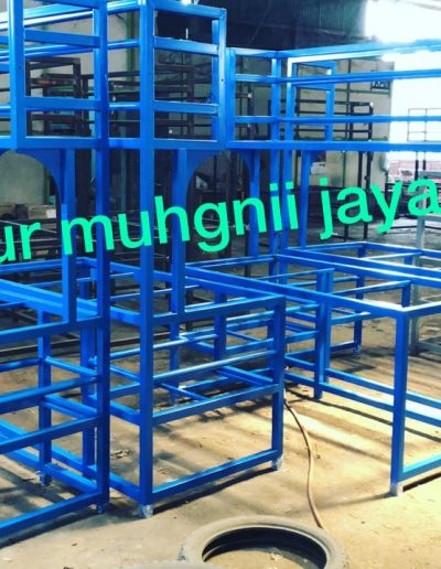 Rak Biru - NMJ Powdercoating